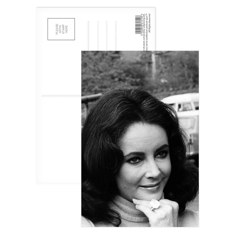 Elizabeth Taylor Postcard (x8)