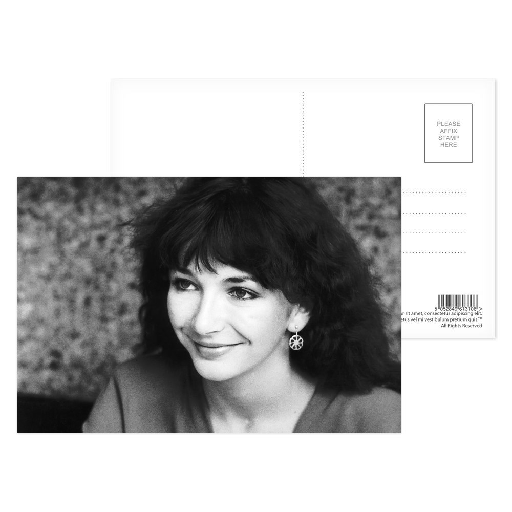 Kate Bush  -  Singer Postcard (x8)