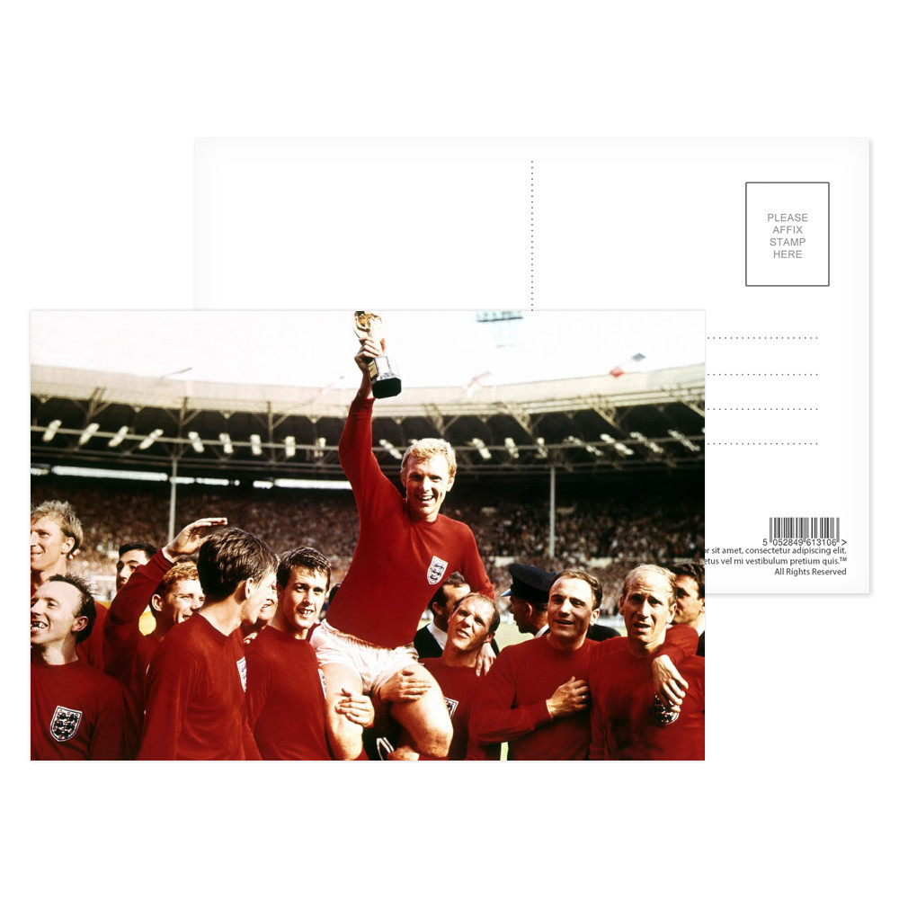 1966 World Cup Final Postcard (x8)