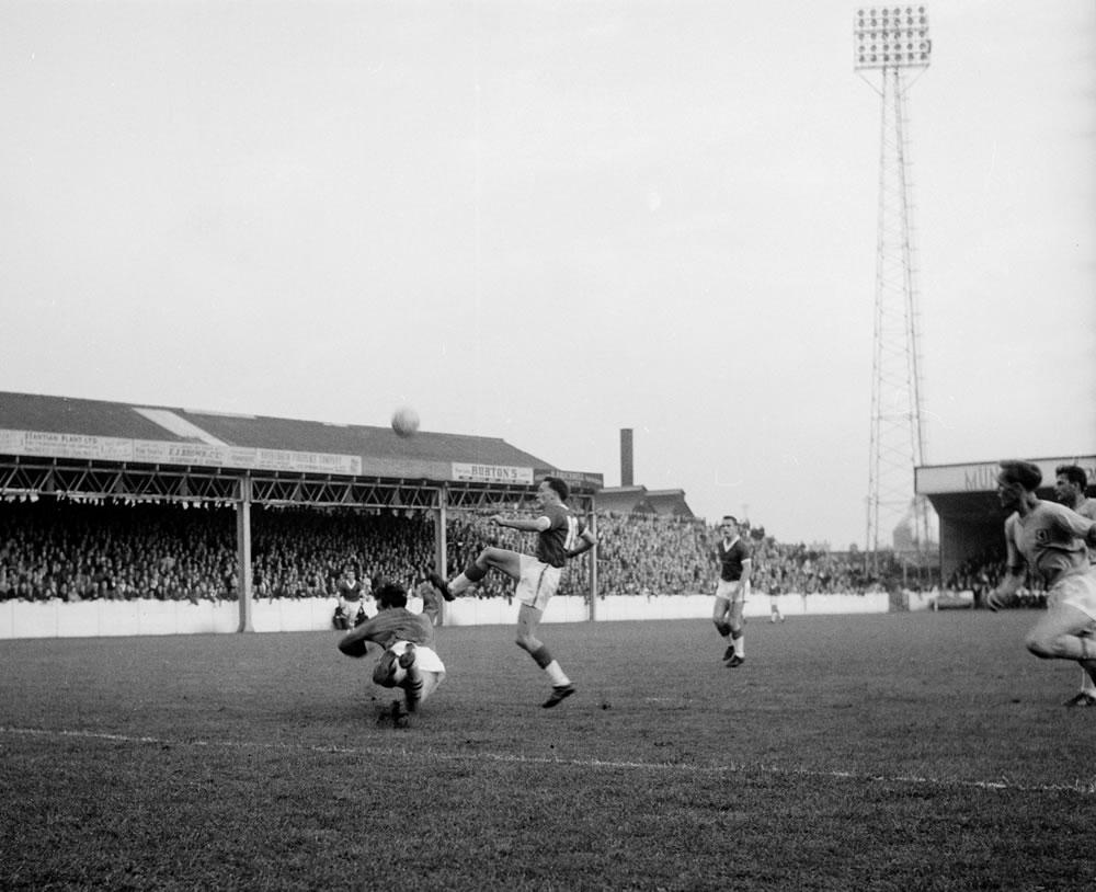 1961 League Cup Final First Leg... Art Print