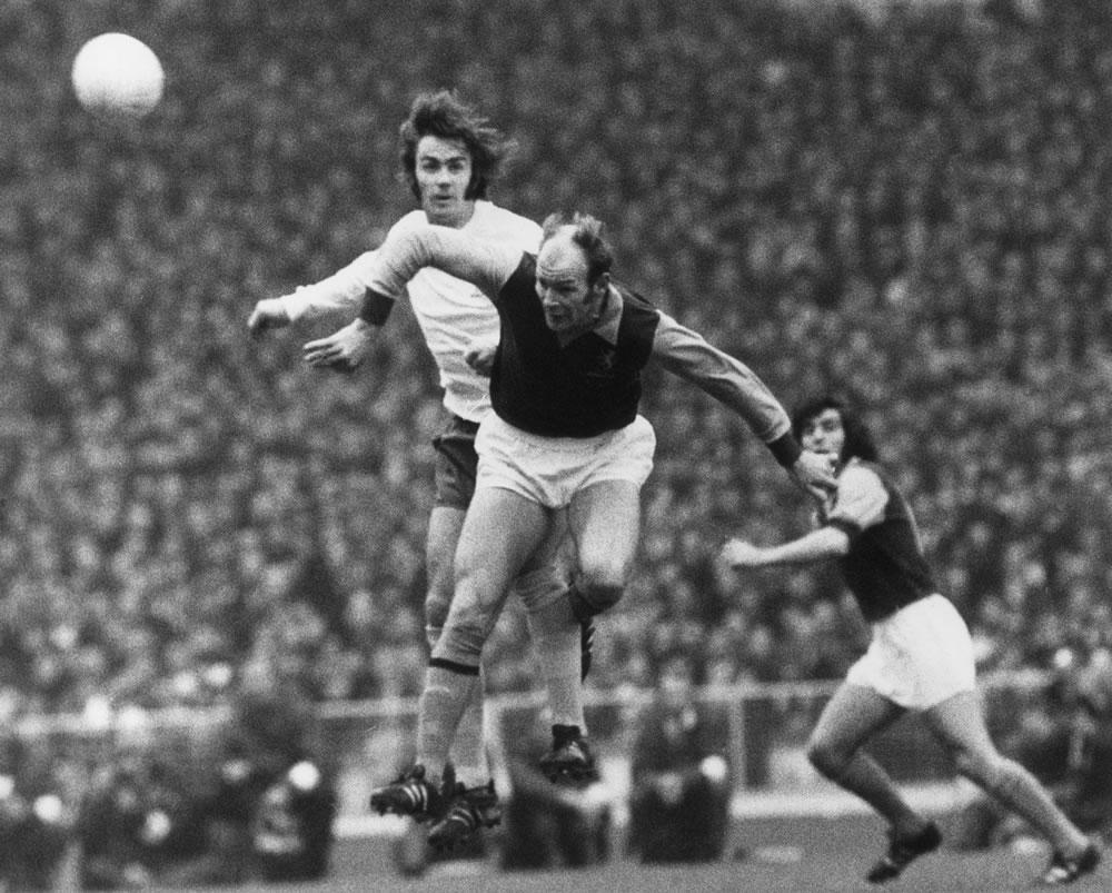1971 League Cup Final at Wembley.. Art Print