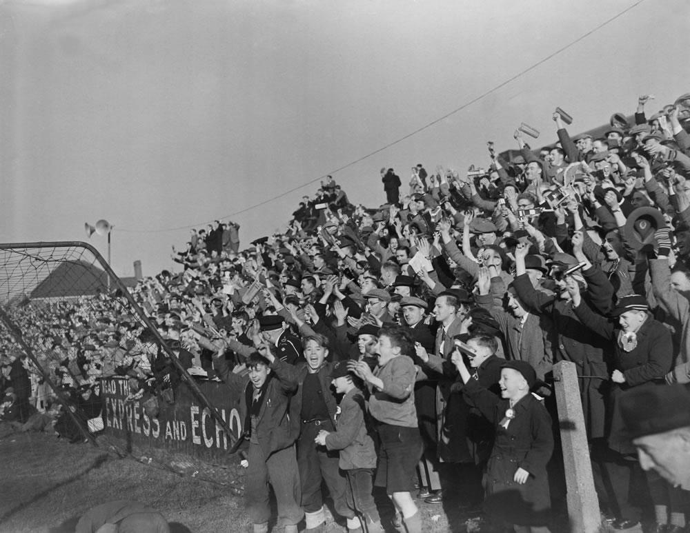 1949 FA Cup Tie 4th Round : Yeovil v Sunderland Art Print
