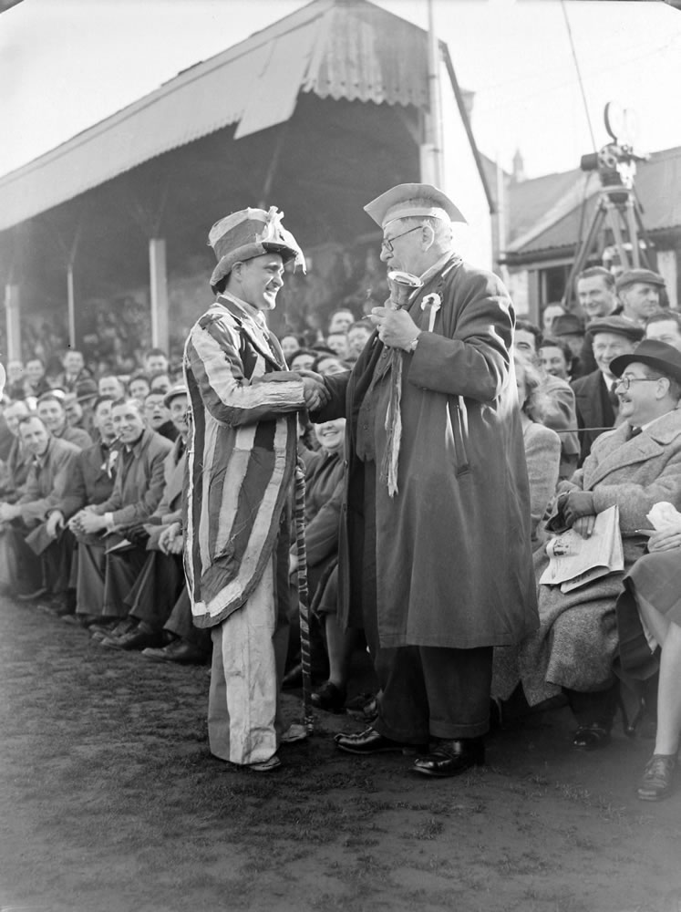 1949 FA Cup Tie 4th Round. Yeovil v Sunderland Art Print