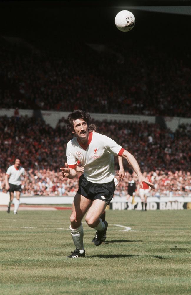 1977 FA Cup Final at Wembley : Manchester United 2 v Liverpool 1... Art Print