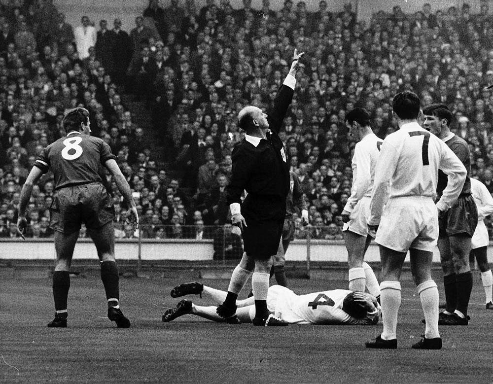 1965 FA Cup Final at Wembley Stadium,.. Art Print
