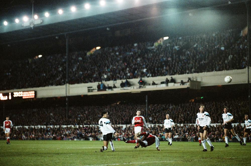 Arsenal 5 v. Aston Villa 0. Arsenal's.. Art Print