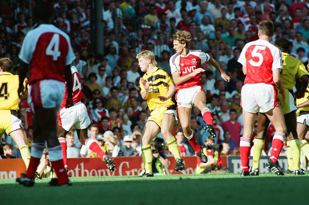 Arsenal 1 v. Coventry 2. Tony Adams.. Art Print