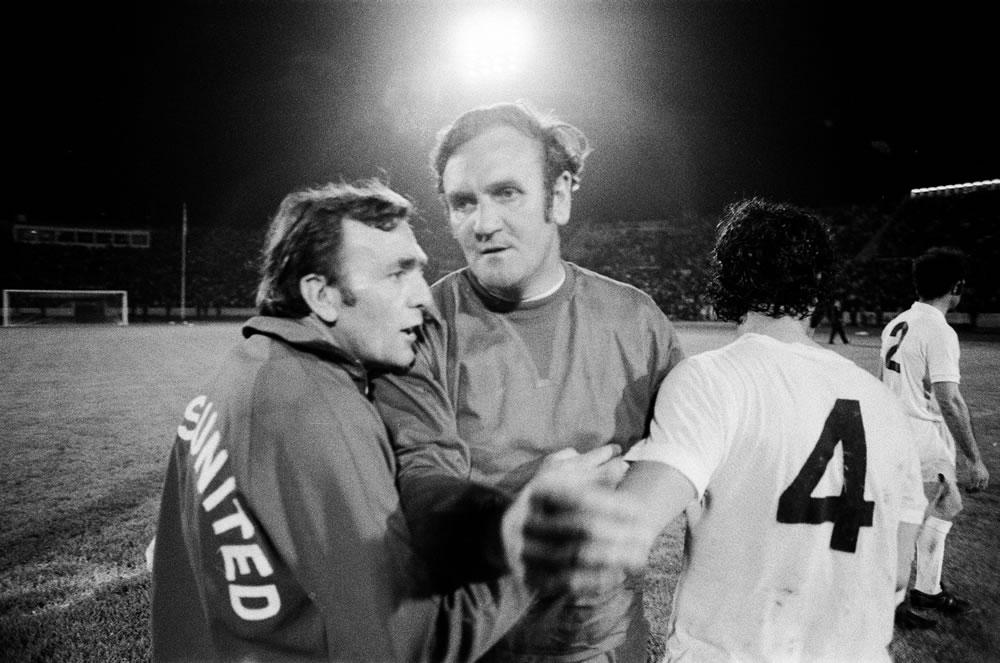 1973 European Cup Winners Cup Final at.. Art Print