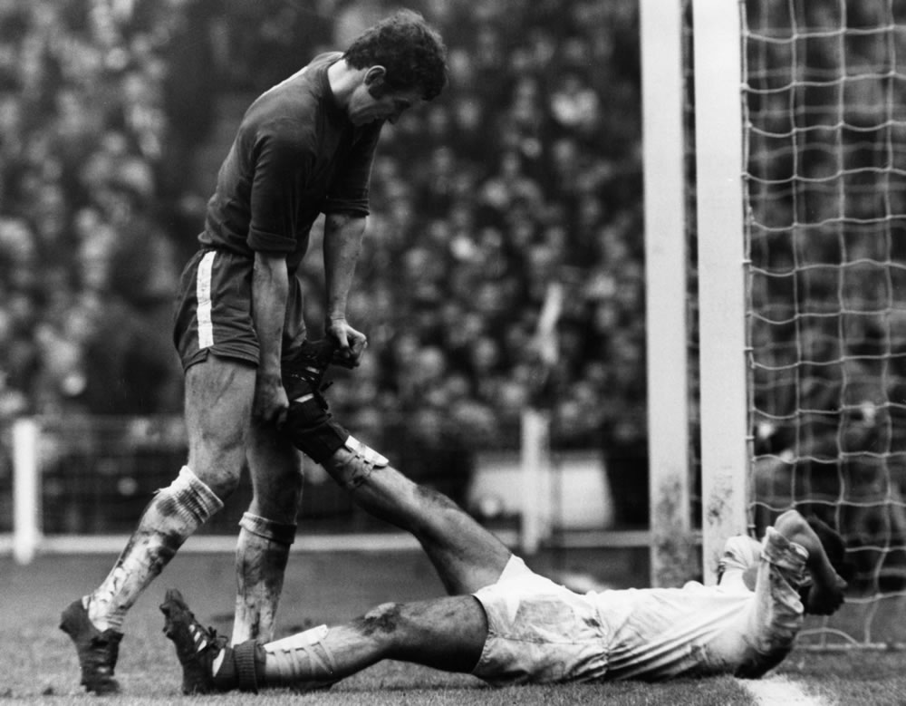 Chelsea v Leeds, FA Cup Final 1970... Art Print