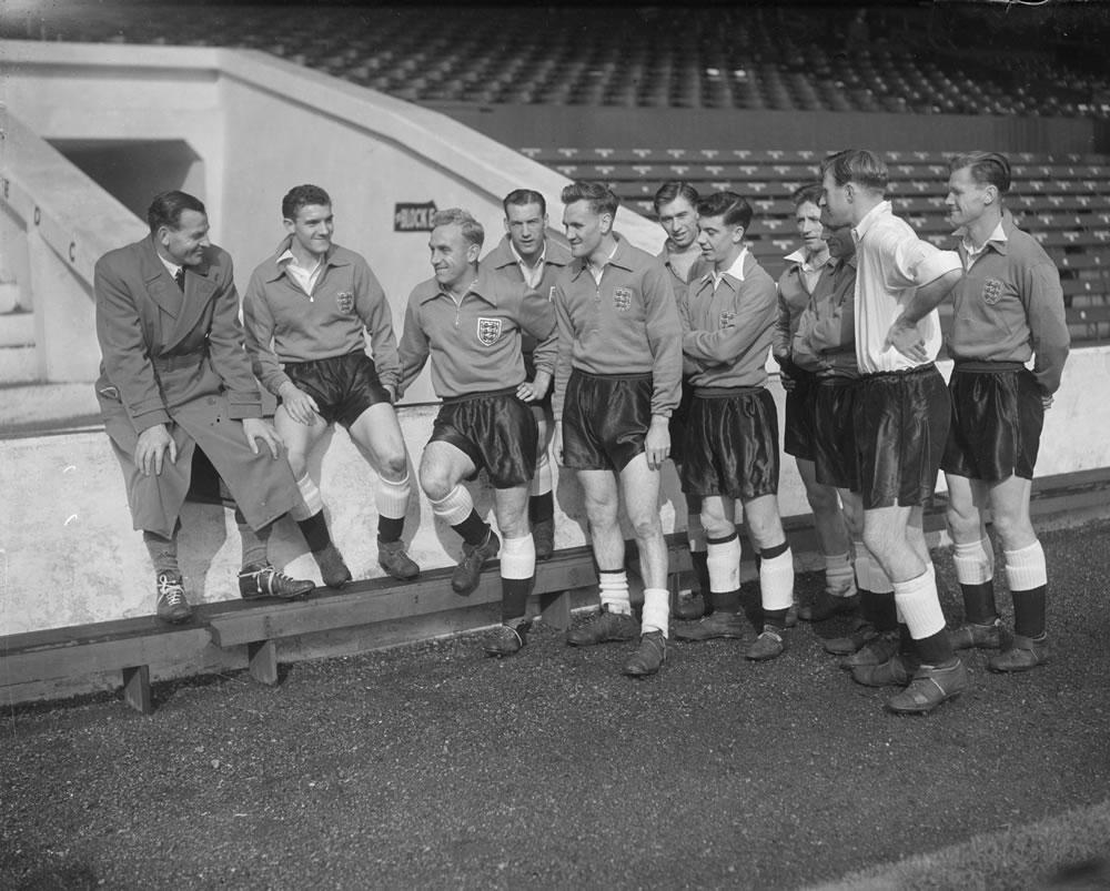 1954 England football team Art Print