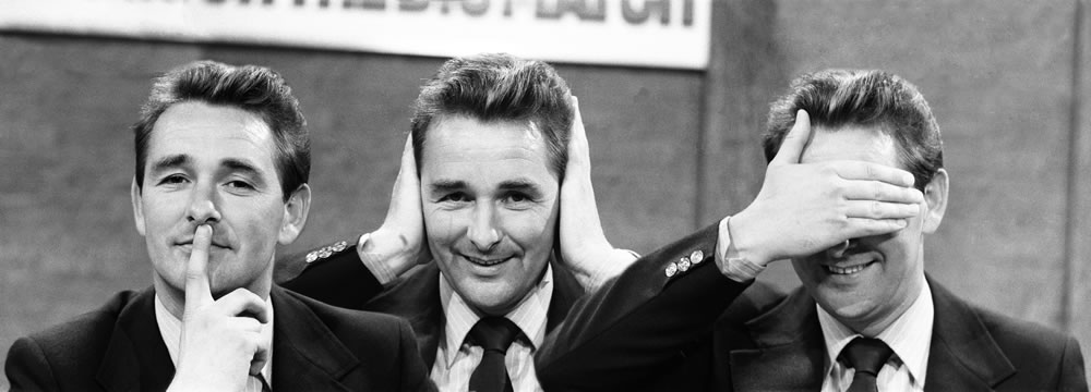 Derby County Manager Brian Clough seen.. Art Print