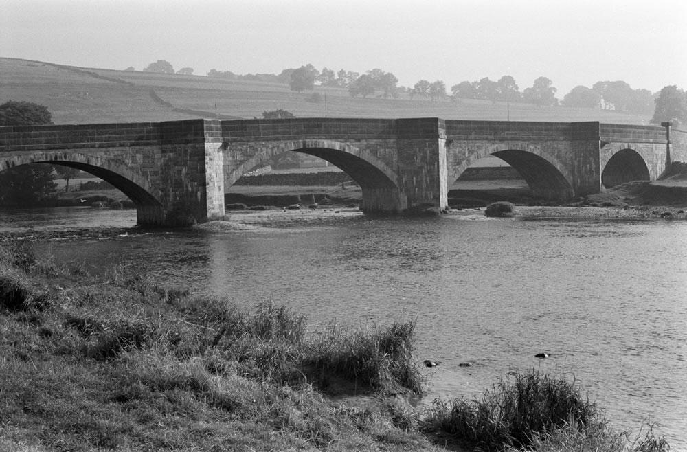 Burnsall bridge, North Yorkshire, 1971. Art Print
