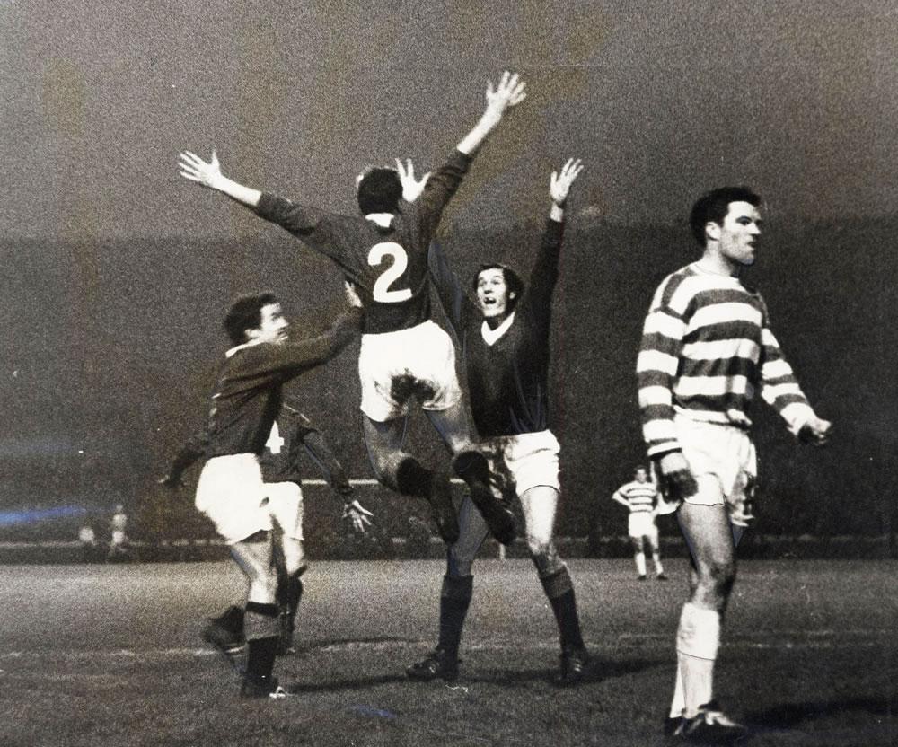 Rangers v Celtic FA Cup final at.. Art Print