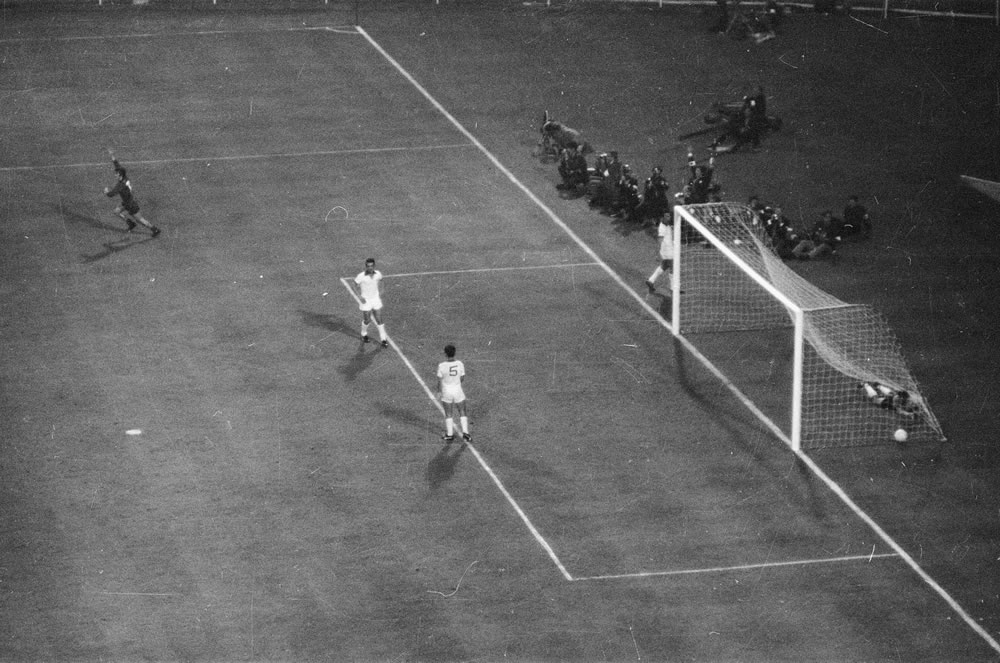 1968 European Cup Final at Wembley.. Art Print