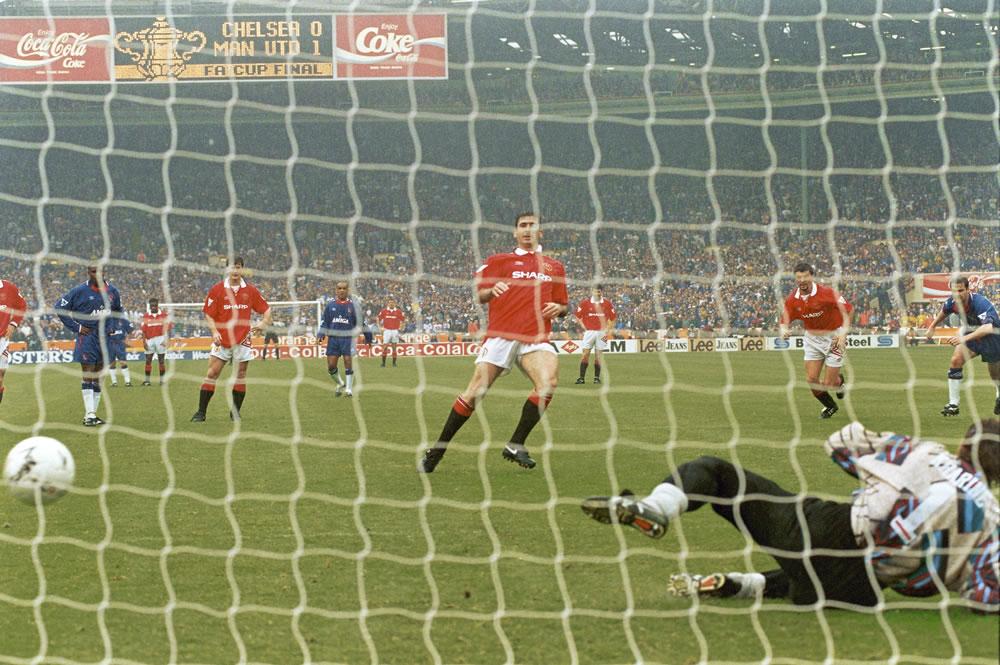 1994 FA Cup Final at Wembley Stadium... Art Print