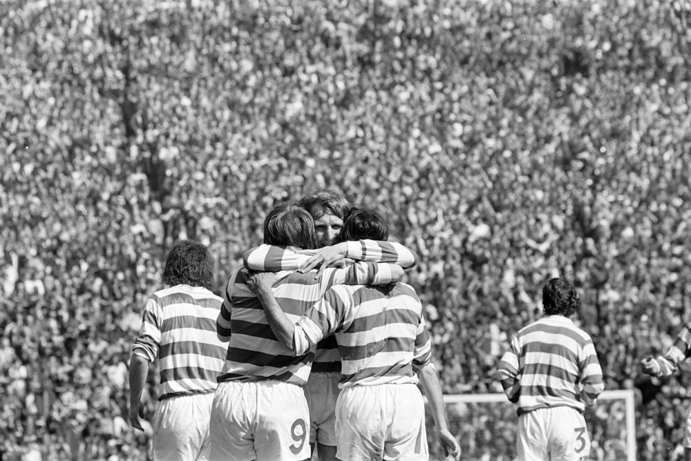 Celtic 3-1 Airdrie, Scottish FA Cup.. Art Print