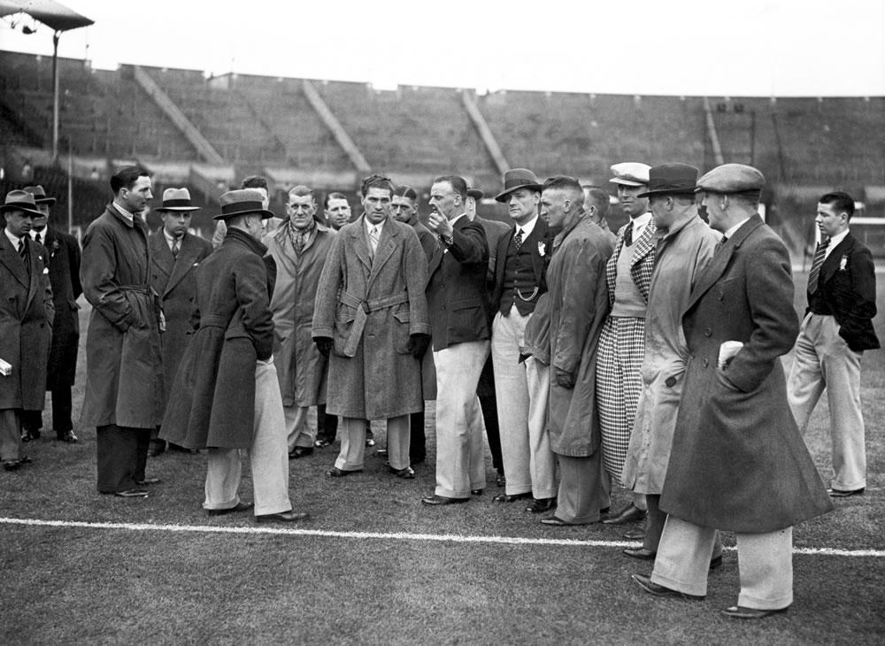 1935 FA Cup Final at Wembley Stadium... Art Print