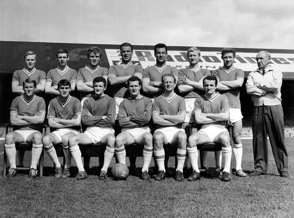 Cardiff City football team group,.. Art Print