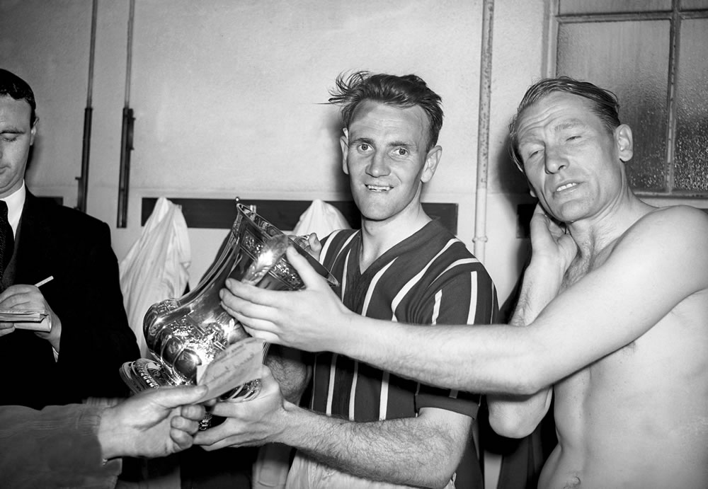1956 FA Cup Final. Manchester City 3 v.. Art Print