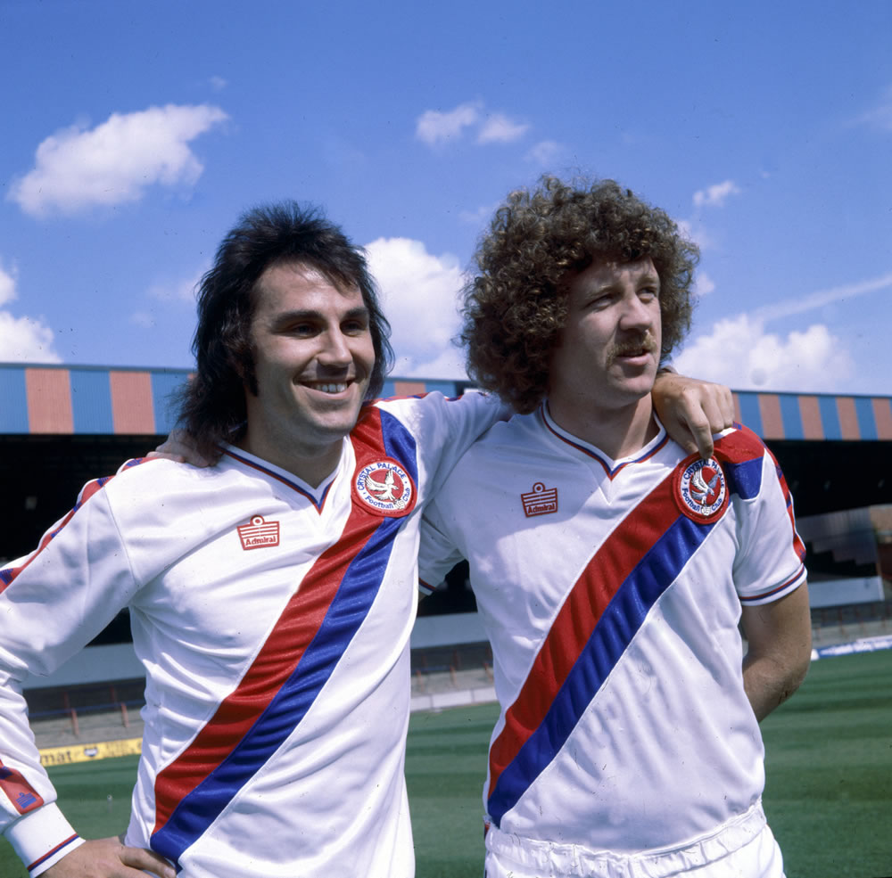 Crystal Palace : 1979. L-R: Gerry.. Art Print