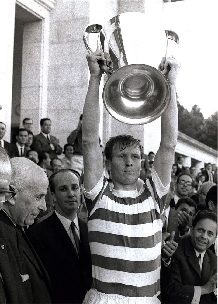 Celtic football player and captain.. Art Print