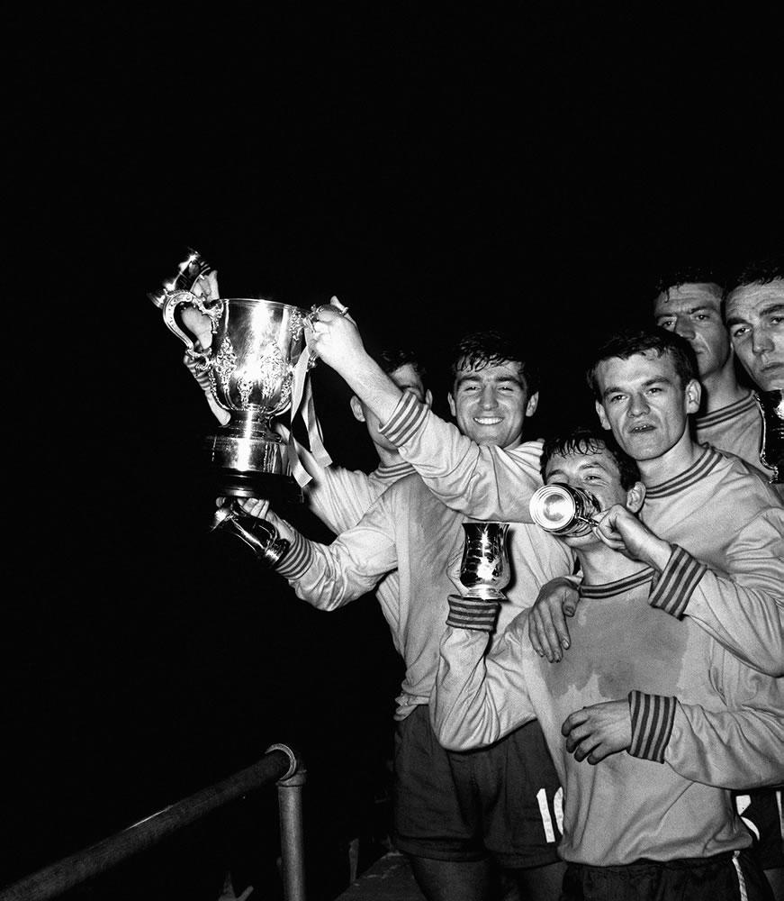 1965 League Cup Final Second leg... Art Print