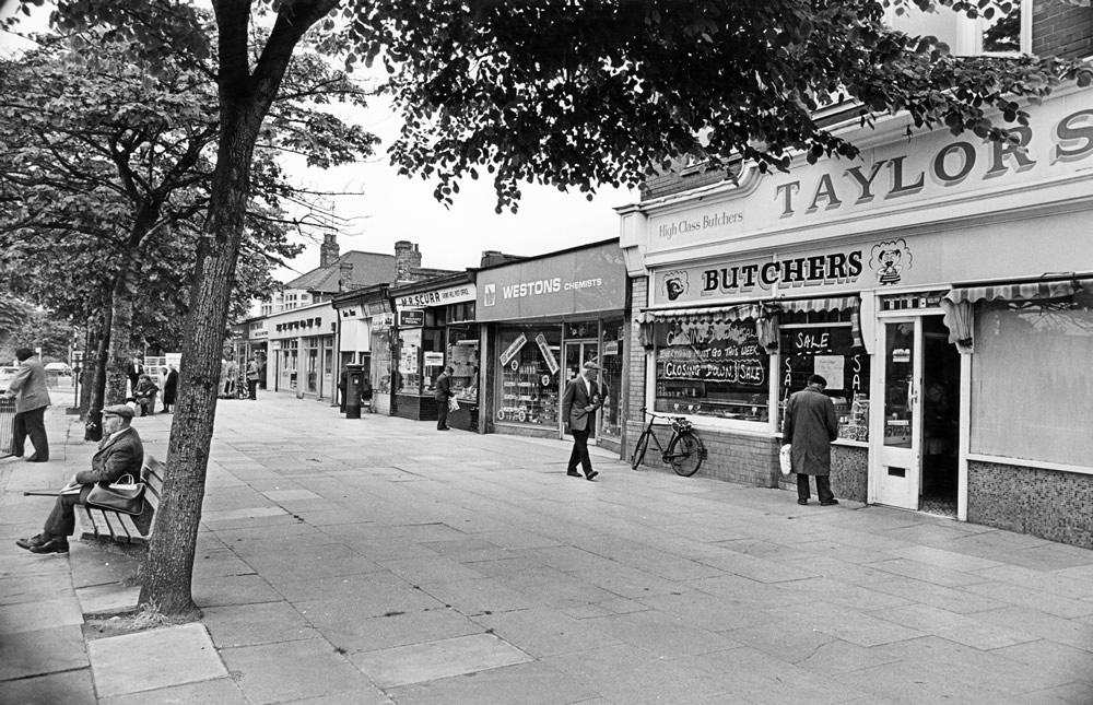 Belle Vue Road, Middlesbrough, North Yorkshire. 14th June 1978. Art Print