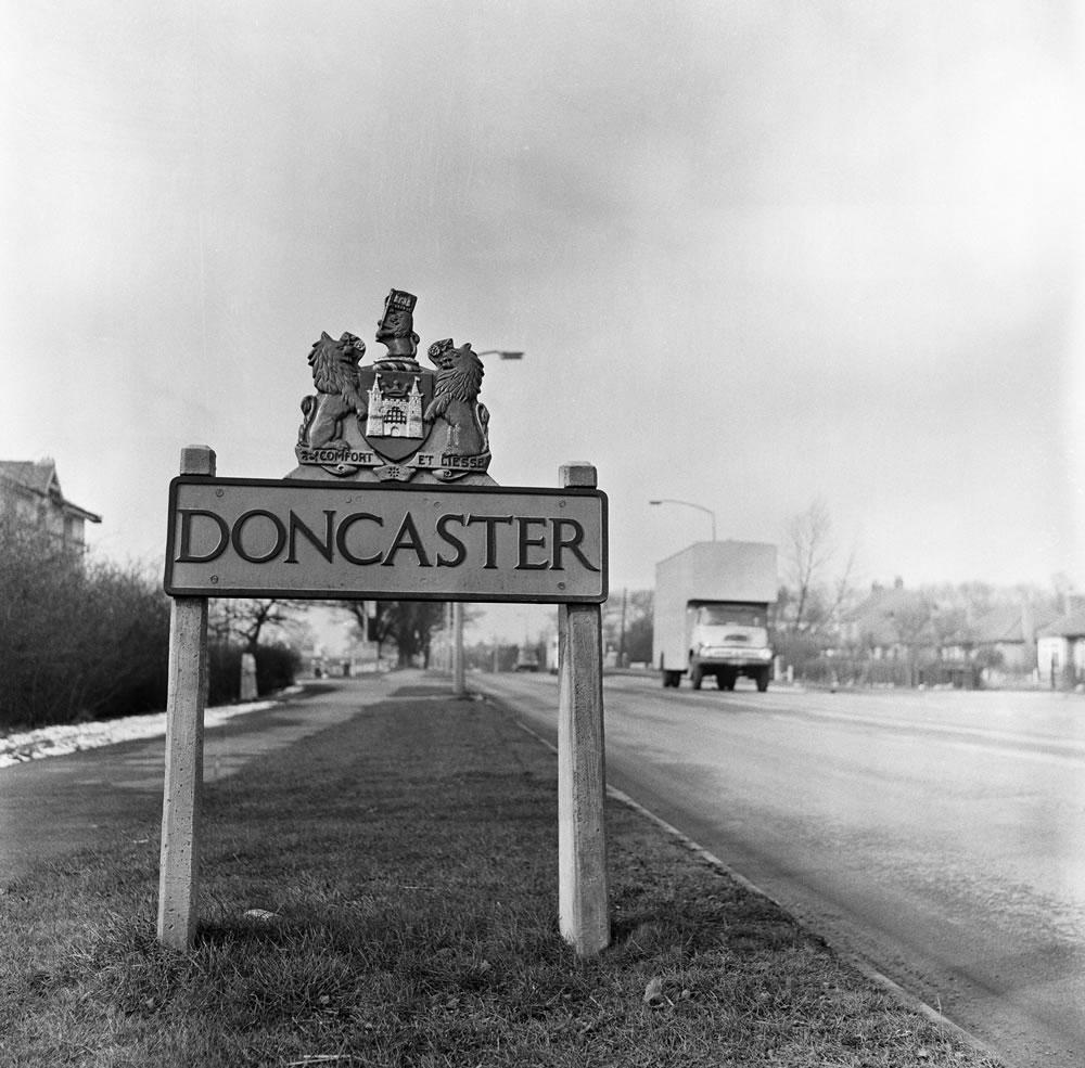 Doncaster, South Yorkshire, 1962. Art Print