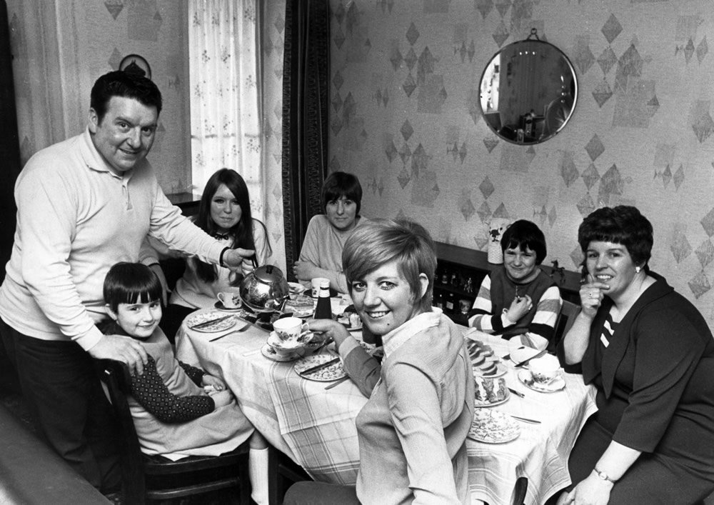 Cilla Black Singer Pictured During Visit To Cousin Jimmy Cullen And