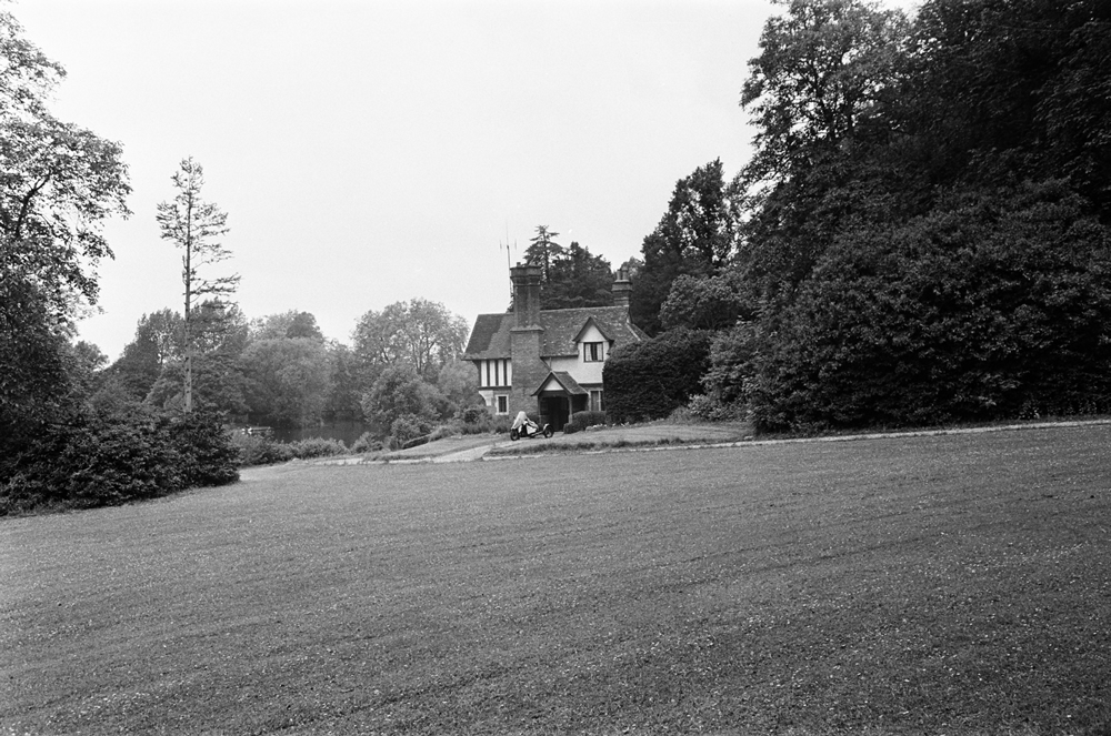 A cottage on the Cliveden Estate, Taplow, Buckinghamshire. 13th June 1963. Art Print