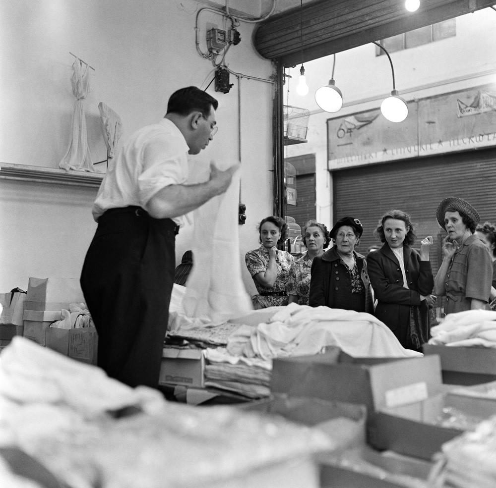 The Pantee Stores, London, 1954 Art Print