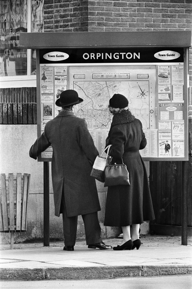 Orpington High Street, 1962 Art Print Art Print
