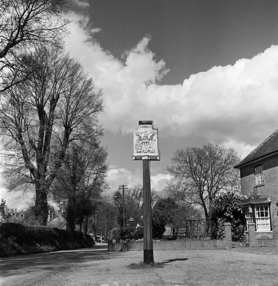 Chenies, Buckinghamshire - Art Print Art Print