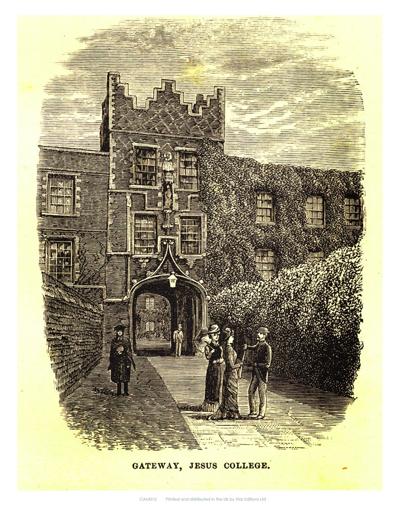 Gateway Jesus College Art Print