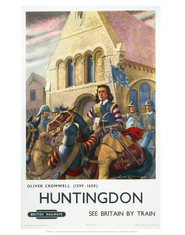 Oliver Cromwell Huntingdon Art Print