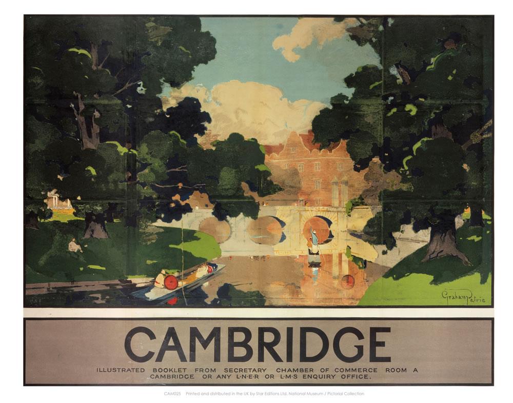 Cambridge Illustrated Booklet Art Print