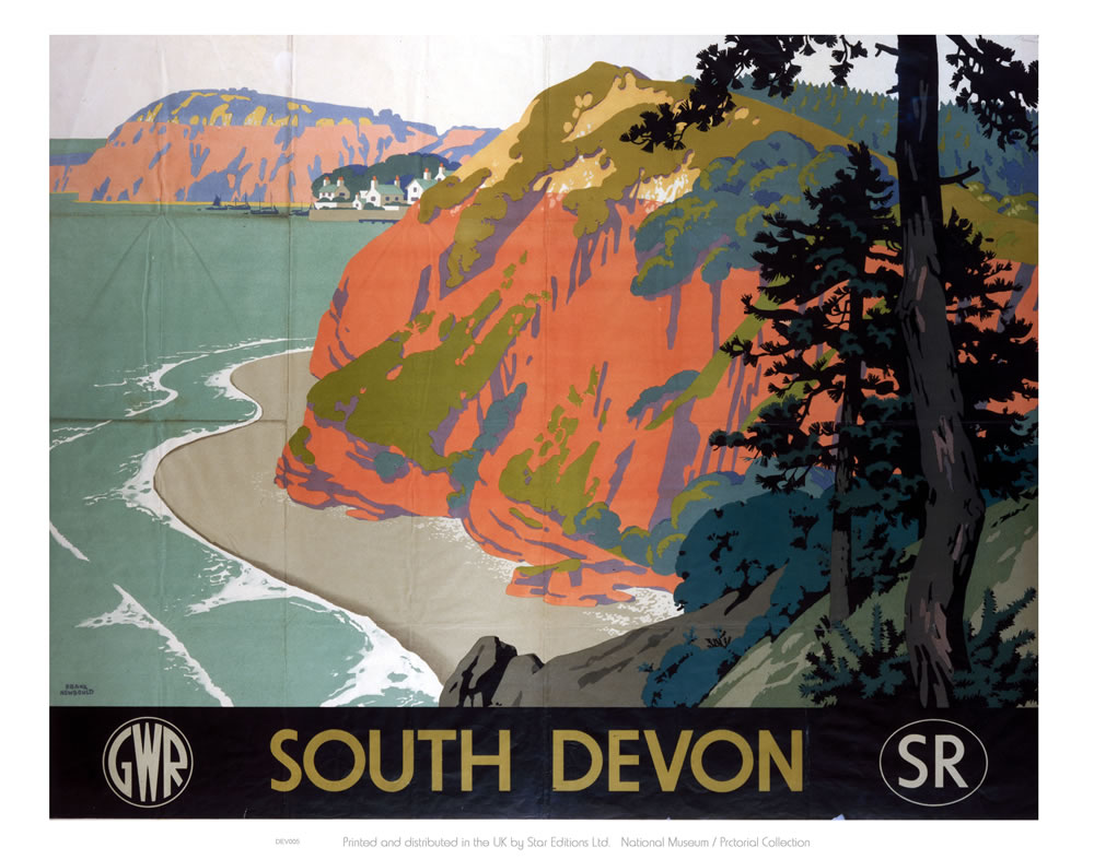 South Devon GWR Art Print  Art Print