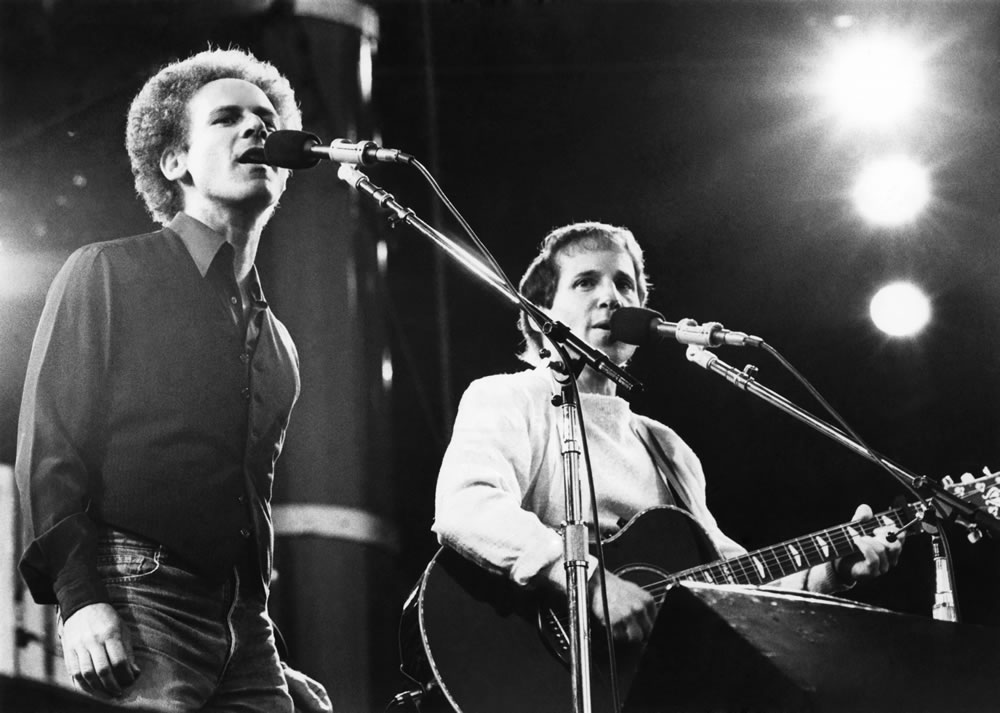 Art Garfunkel and Paul Simon Art Print