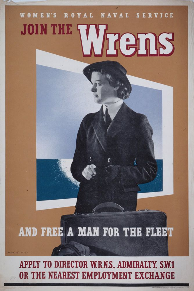Join the Wrens and Free a Man for the Fleet Art Print
