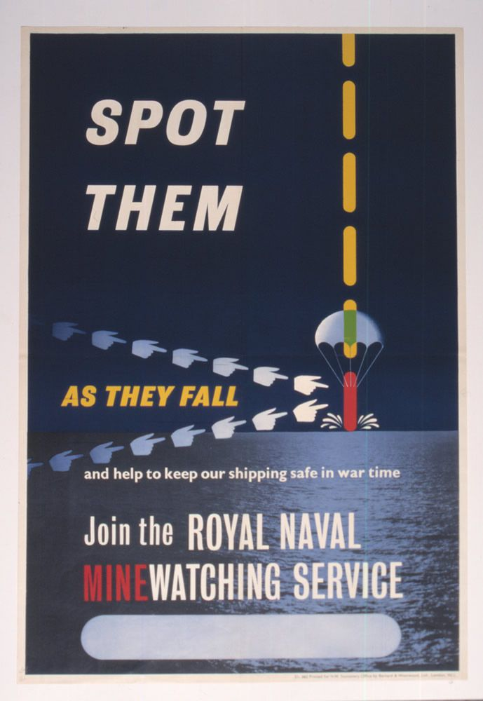 Spot Them as They Fall and Help to Keep our Shipping Safe in War Time  Art Print