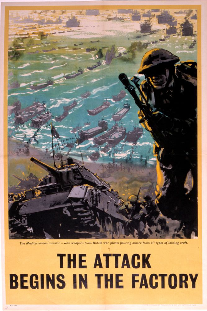 The Attack Begins in the Factory Art Print