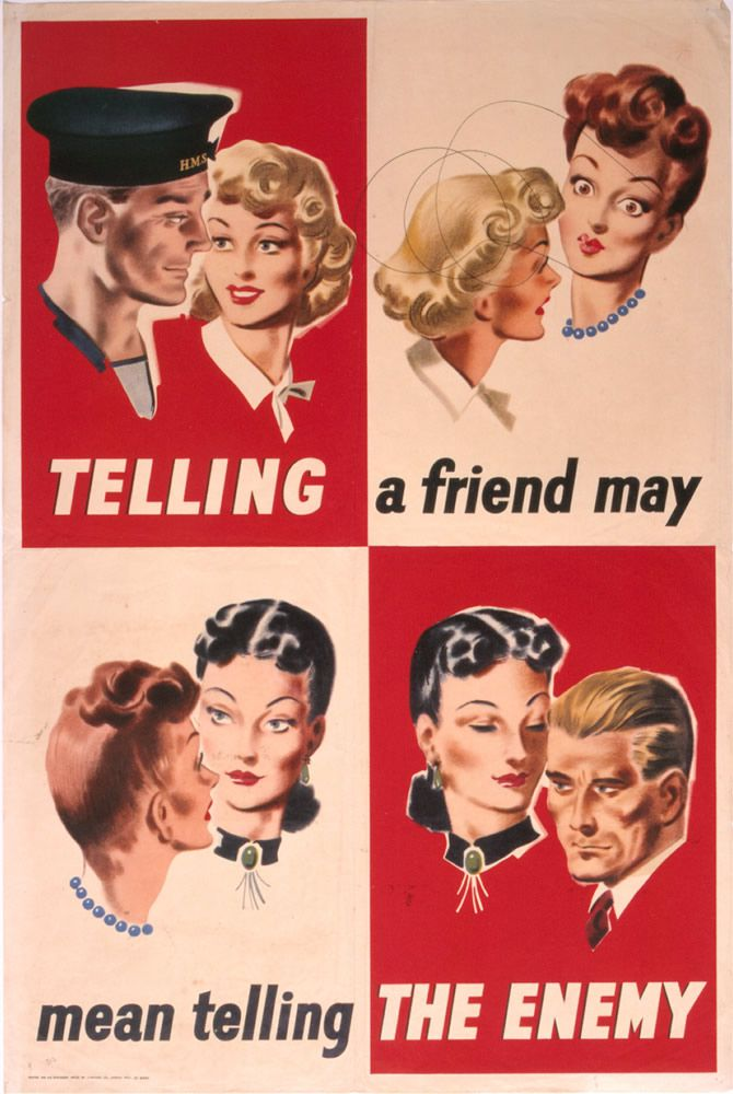 Telling a Friend May Mean Telling the Enemy Art Print