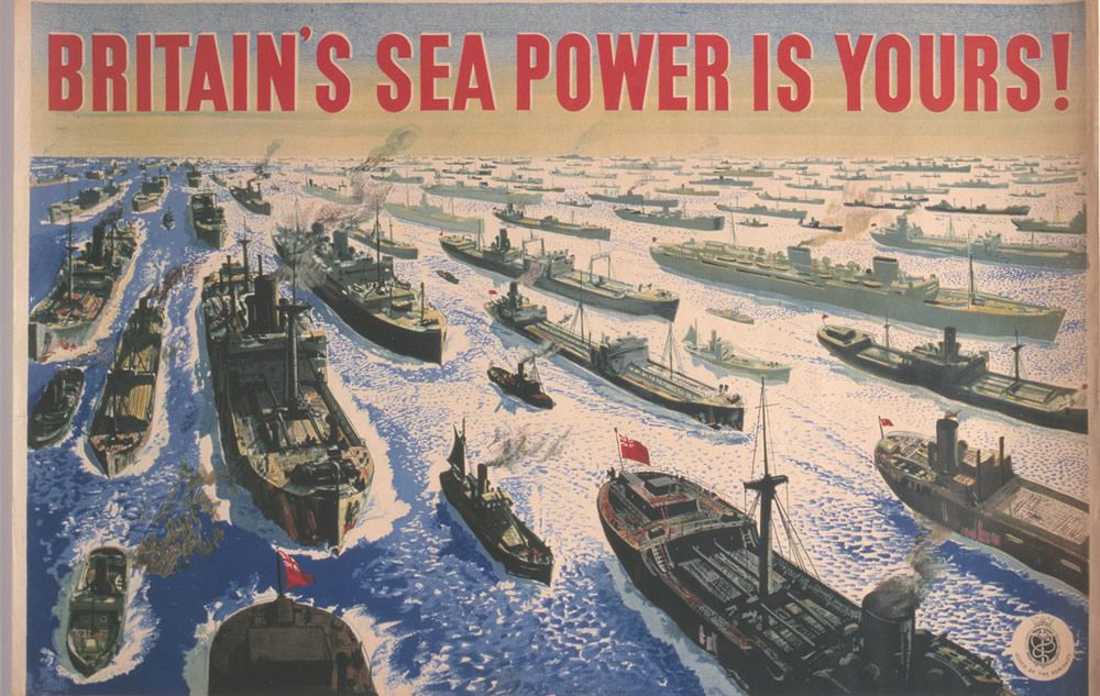 Britain's Sea Power is Yours! Art Print