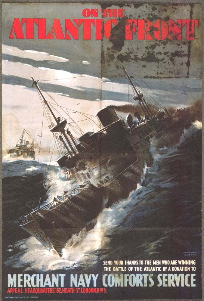 On The Atlantic Front Art Print