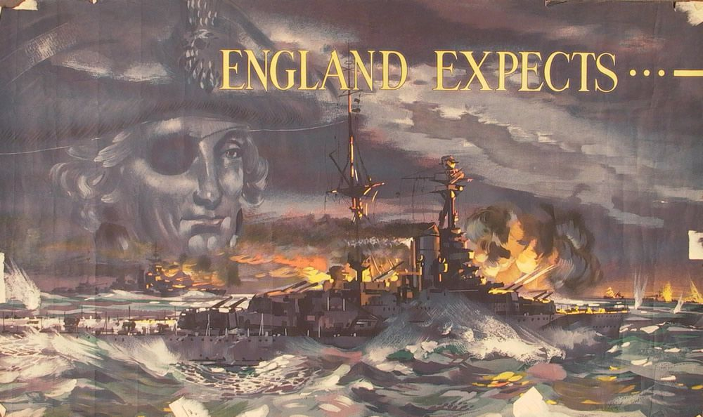 England Expects... Art Print