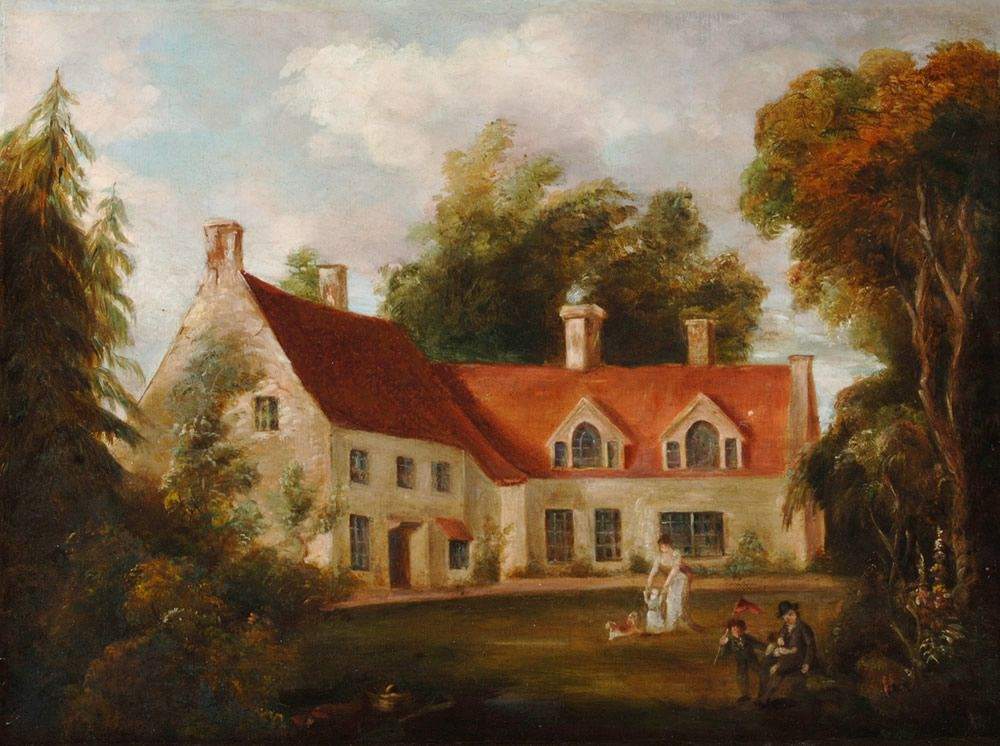 The Parsonage at Burnham Thorpe Art Print