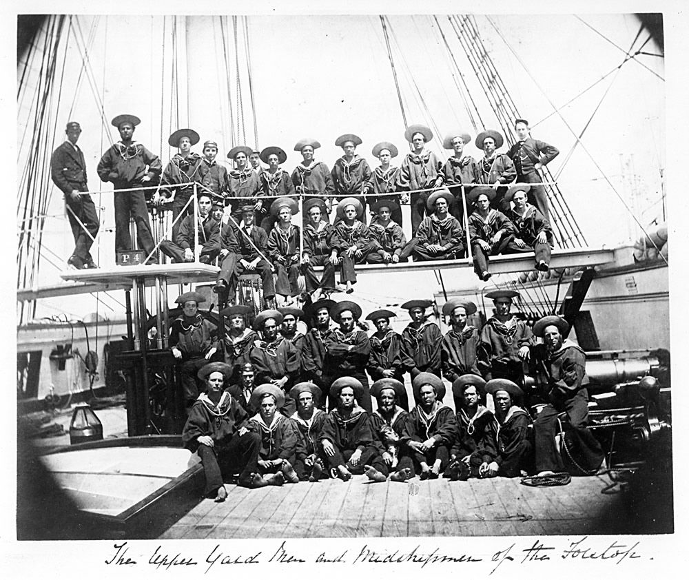 Crew of HMS Phoebe Art Print
