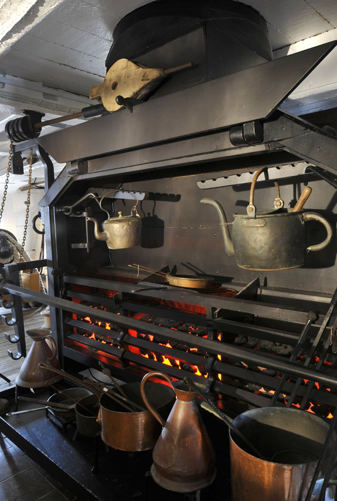 HMS Victory's Galley Art Print
