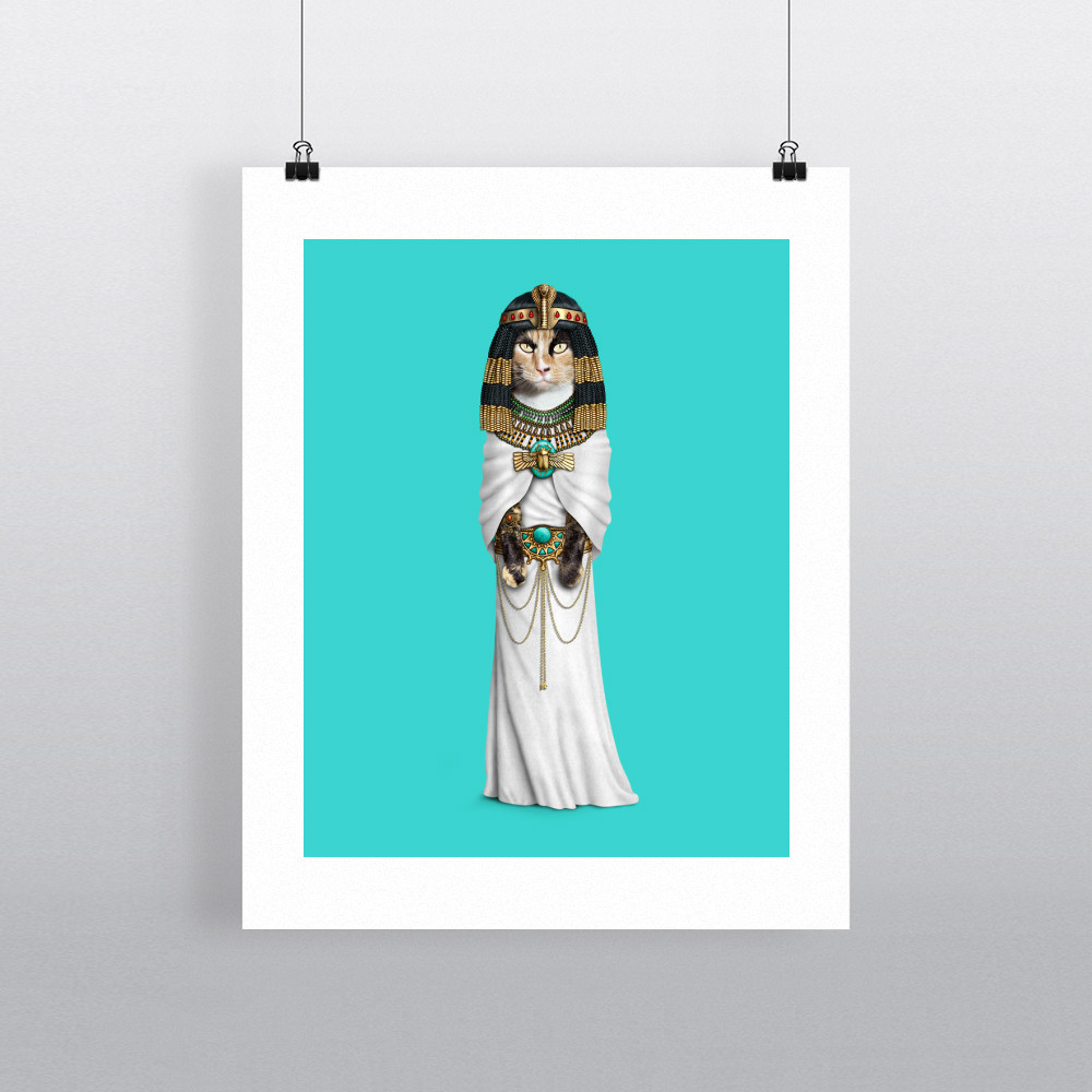 Cleo Pets Rock 11' by 14' Art Print