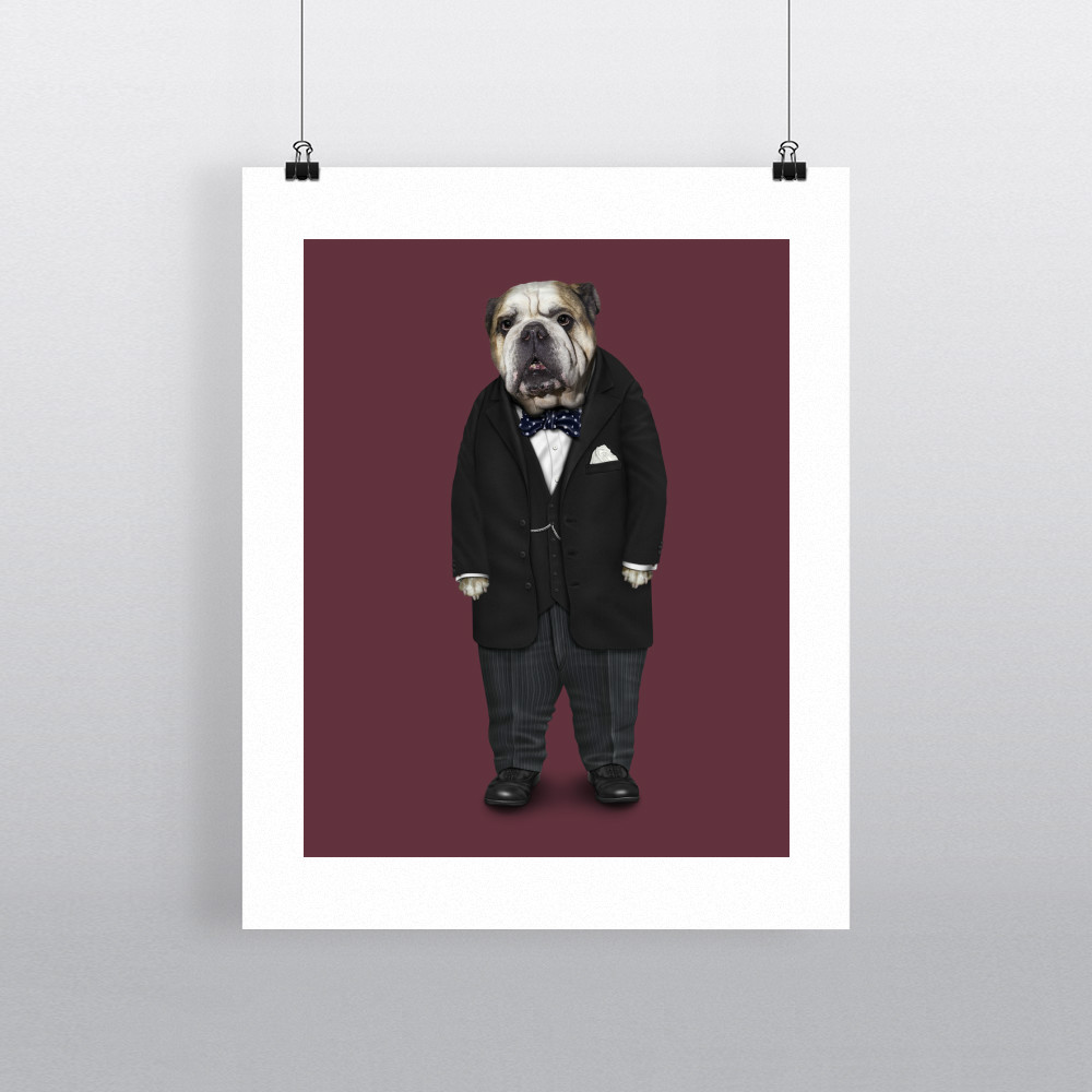 Leader Pets Rock 11' by 14' Art Print